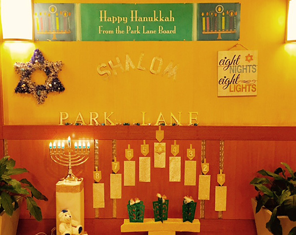 The Park Lane Board of Directors wishes all tenants a very Happy Holiday Season